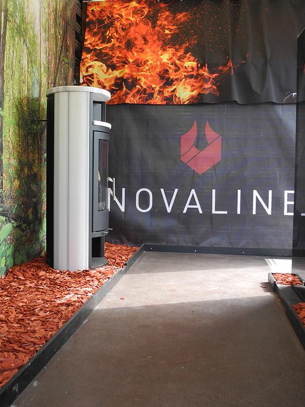 Ein Blick ins Innere des Novaline Wagens