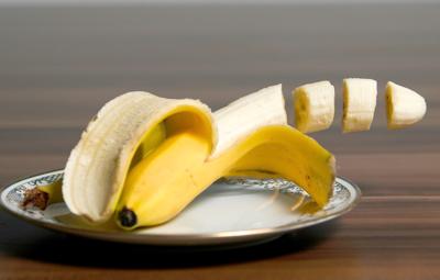 Banae-vom-Grill