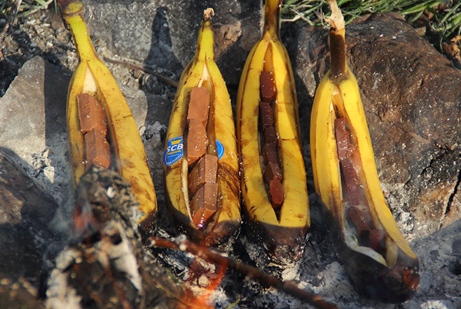 Grill-Banane