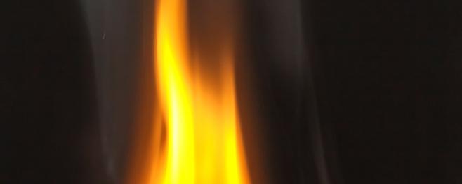 Holzverbrennung-Oxidation