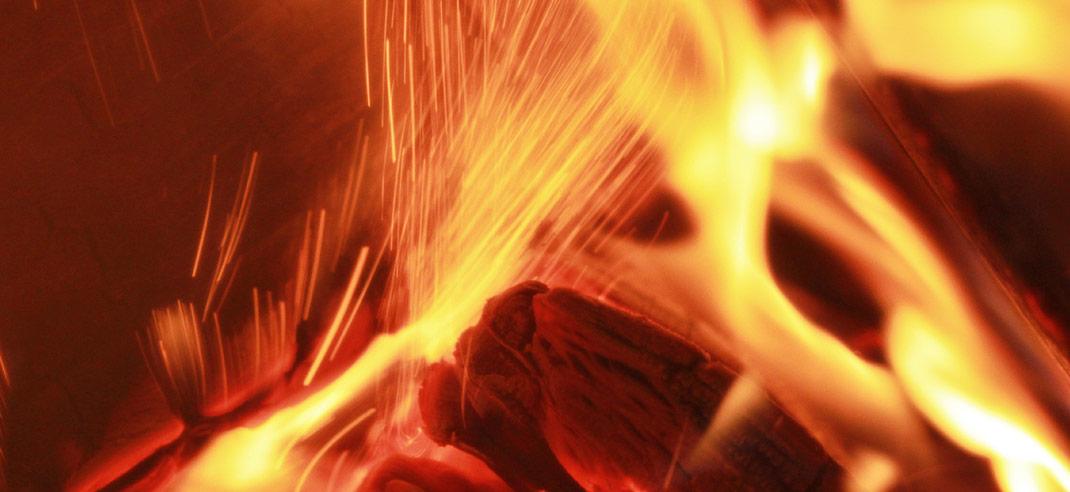Holzverbrennung