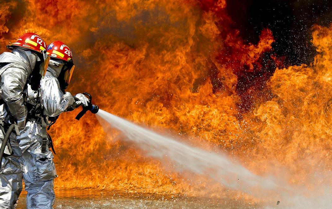 Kaminbrand-Gefahr