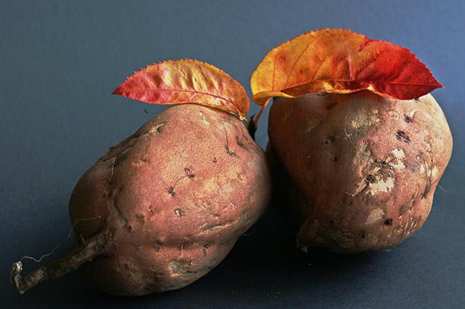 Vegane-Süßkartoffel