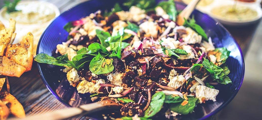 Salat-zum-Grillen