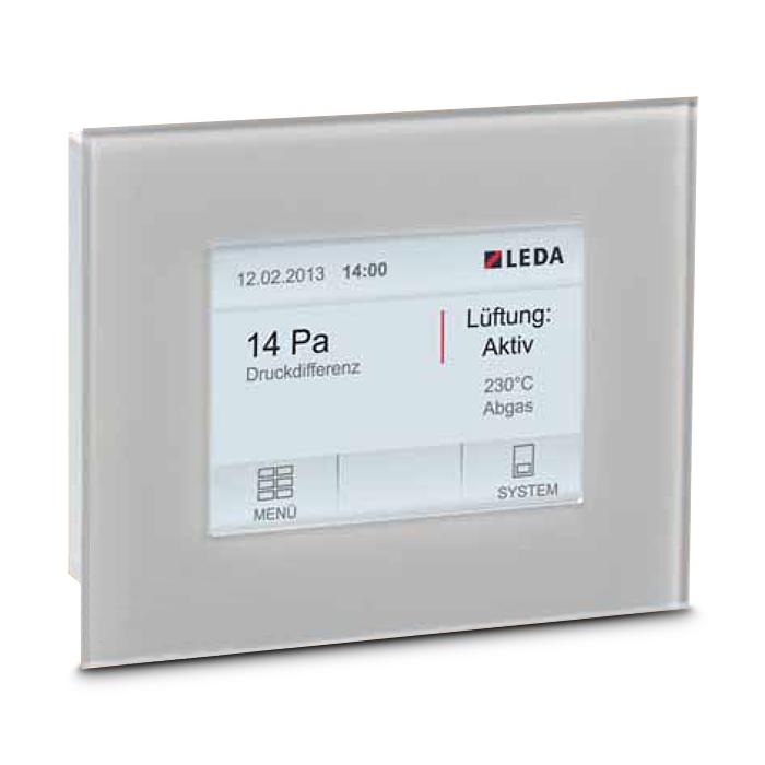 Unterdruckwächter LEDA Display