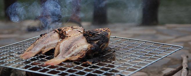Frischer-Fisch-auf-dem-Grill