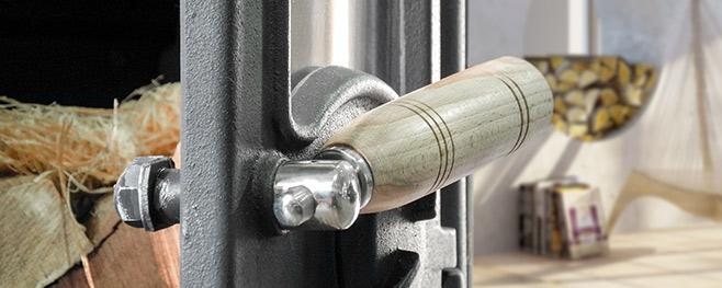 Holzgriff-Detail