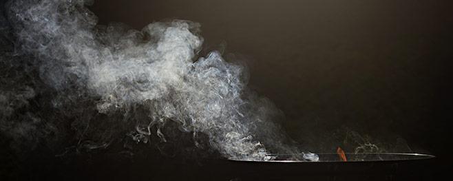 starke-Rauchentwicklung