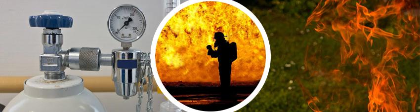 Bildfolge bei Gasbrand richtig handeln