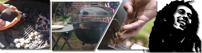 Bildfolge das Fleisch richtig grillen und räuchern