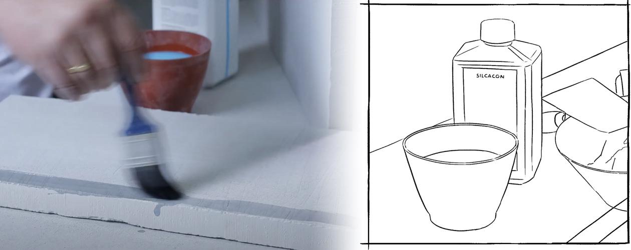 Kamin verkleiden - Grundierung empfohlen