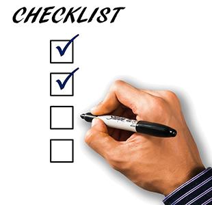 Kamin verkleiden - Checkliste
