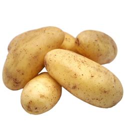 ein Häufchen Kartoffeln
