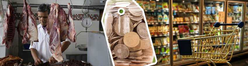 Bildfolge Metzkerfleisch vs. Discounterfleisch