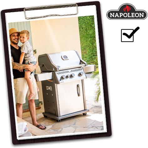 Napoleon Grill Test - Rogue XT 425