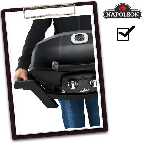 Napoleon Grill Test - der TravelQ ist leicht zu tragen
