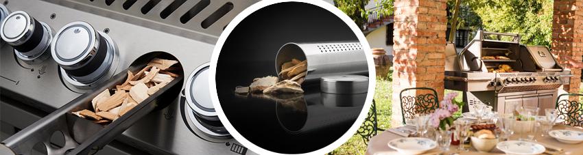 Bildfolge Napoleon Prestige 825 Grillen und Räuchern