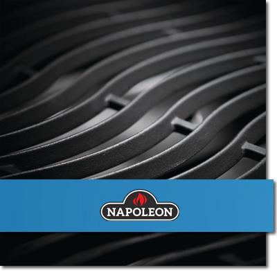 Gussrost von Napoleon Grill