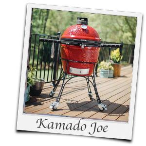 KamadoJoe als Holzkohlegrill zum Smoken