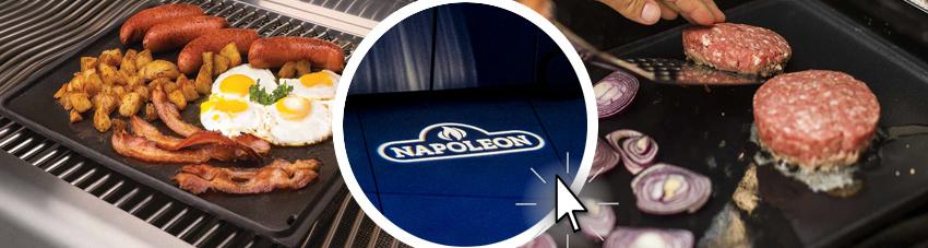 weiterführende Bildfolge gusseiserne Grillplatte für Napoleon Gasgrills
