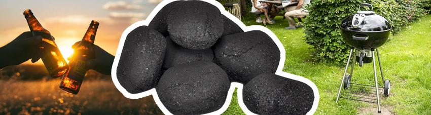 Bildfolge gute Kohle für perfekten Grillabend