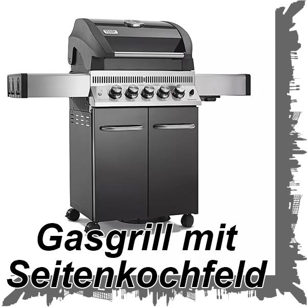 Produktbild Gasgrill mit Seitenkochfeld