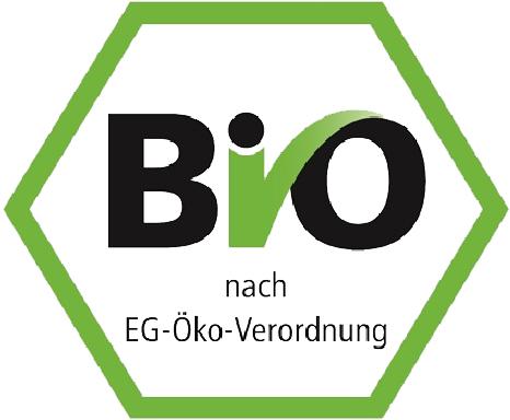 Bio Siegel nach EG Öko-Verordnung