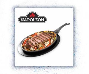 Napoleon Grill- und Bratpfanne Gusseisen