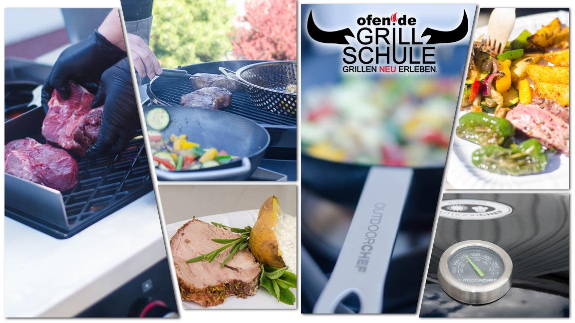 Impressionen der ofen.de Grillschule, die Grillkurse in Halle / Leipzig und Thüringen anbietet