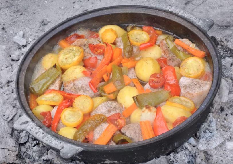 Kalbfleisch-vom-Dutch-Oven