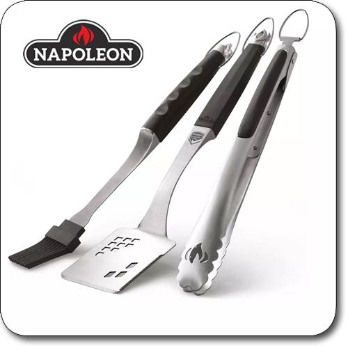 Produktbild Grillbesteck Napoleon Presidents Limited 3-tlg