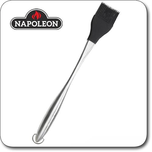 Produktbild des Napoleon Edelstahl Pinsel mit Silikonborsten 30 cm