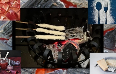 Eine Alternative zum Grillen ist die Zubereitung eines Knüppelbrots am gemütlichen Lagerfeuer