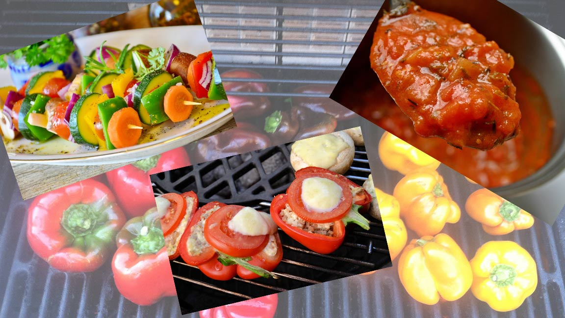 Titelbild Blogbeitrag vegetarische gerichte mit paprika