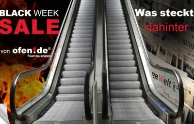 Blogbeitragsbild ofen.de black-week 2019 - die Entwicklung des schwarzen Freitags