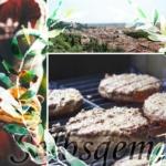 Burgerpatties selbst machen- für mediterranen Cheeseburger (Rezept 3/3)
