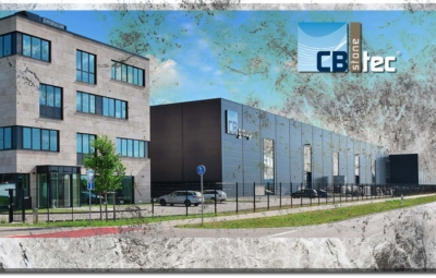 Foto des CB stone-tec Firmensitzes auf Mamor