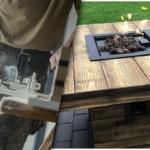 Feuertisch selber bauen