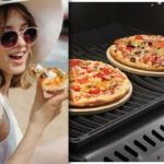 Pizza auf dem Gasgrill zubereiten
