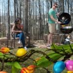 Grillen zu Ostern