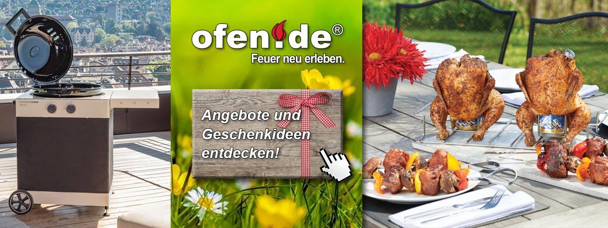 Grillangebote und Geschenkideen zu den Rezepten der Ofen.de Grillschule entdecken!