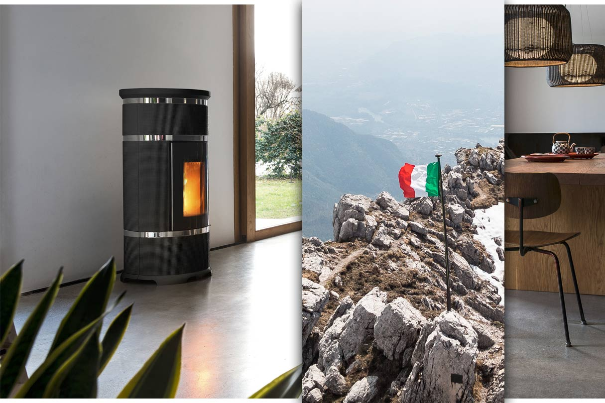 italienische Kamin- und Pelletöfen