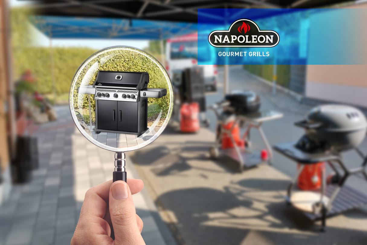 Napoleon Grill Test - Napoleon Gourmetgrill neben anderen Grills unter der Lupe