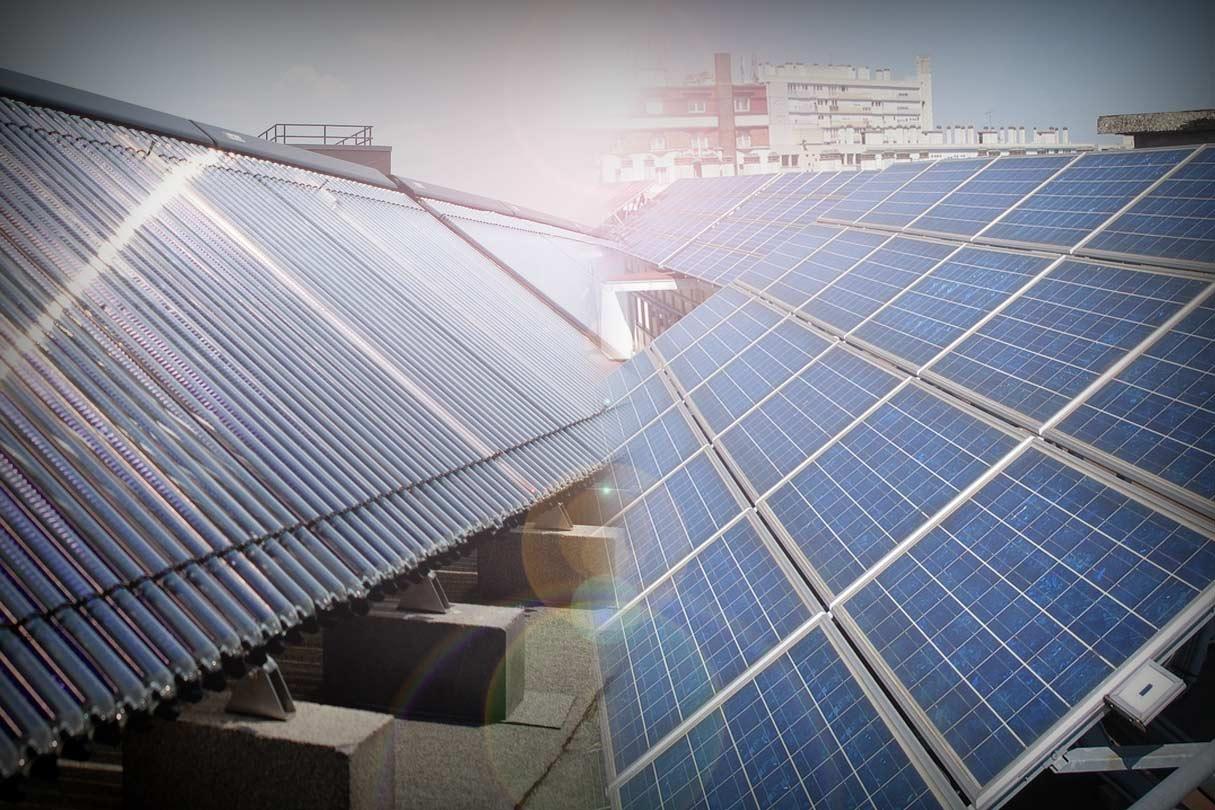 Gegenüberstellung Solarthermie Photovoltaik