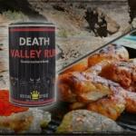 Gefüllte Hähnchenschenkel vom Grill mit Death Valley Rub