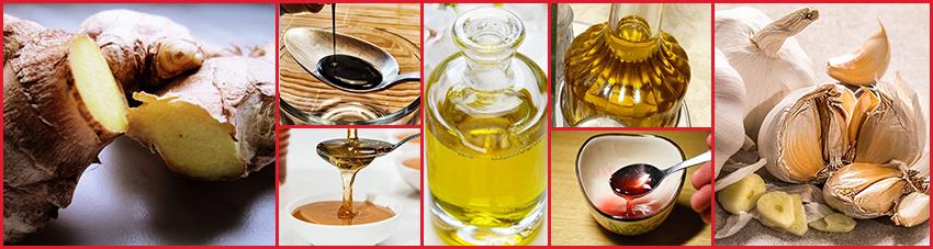 Zutaten Honig-Ingwer-Marinade mit Sherry für exzentrischen Grillgenuss