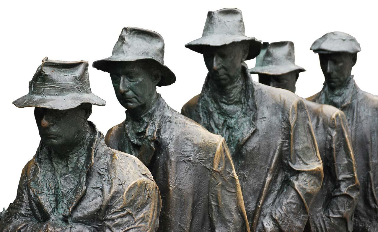 Denkmal der großen Depression in New York City