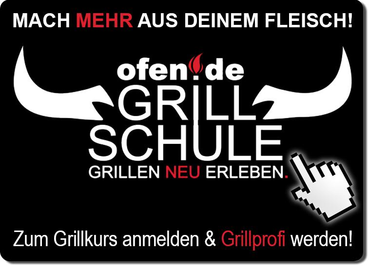 Grillkurse der ofen.de Grillschule buchen!