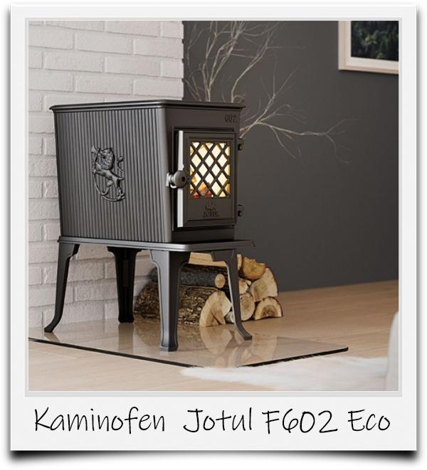 Polaroidbild vom Kaminofen F 602 Eco von Jotul