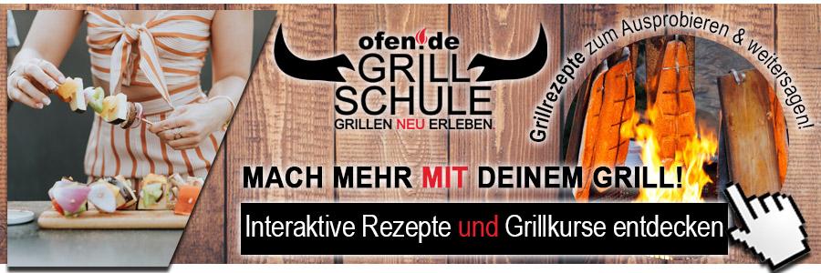 Rezepte in der ofen.de Grillschule und Grillkurse entdecken!
